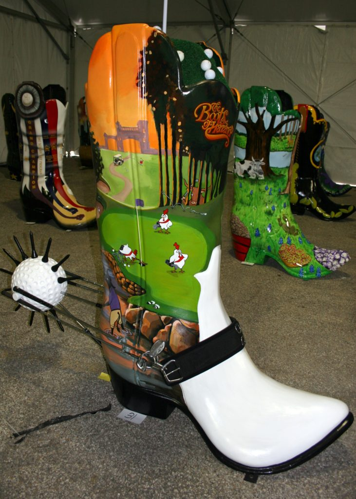 Boot Scoot Golf Theme